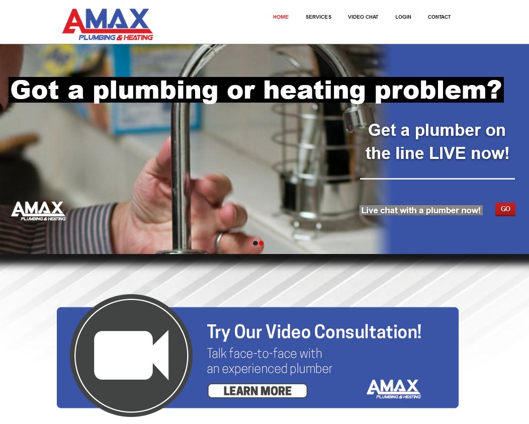 Amax-website