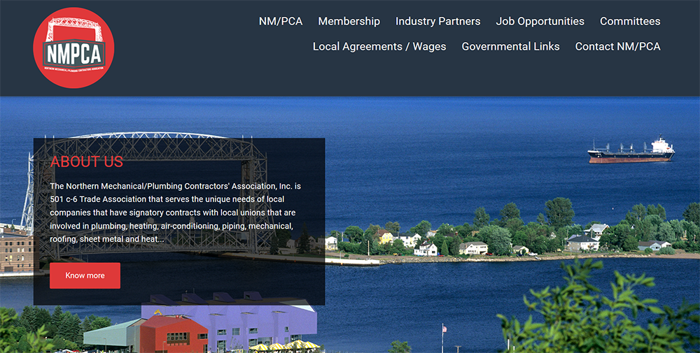 The Northern Mechanical and Plumbing Contractors Association