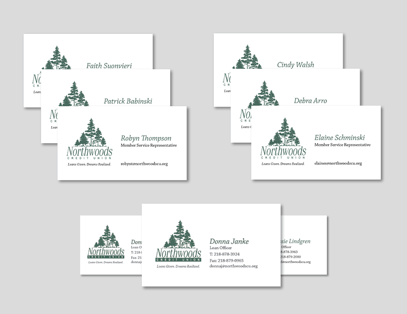 Northwoods Business Cards