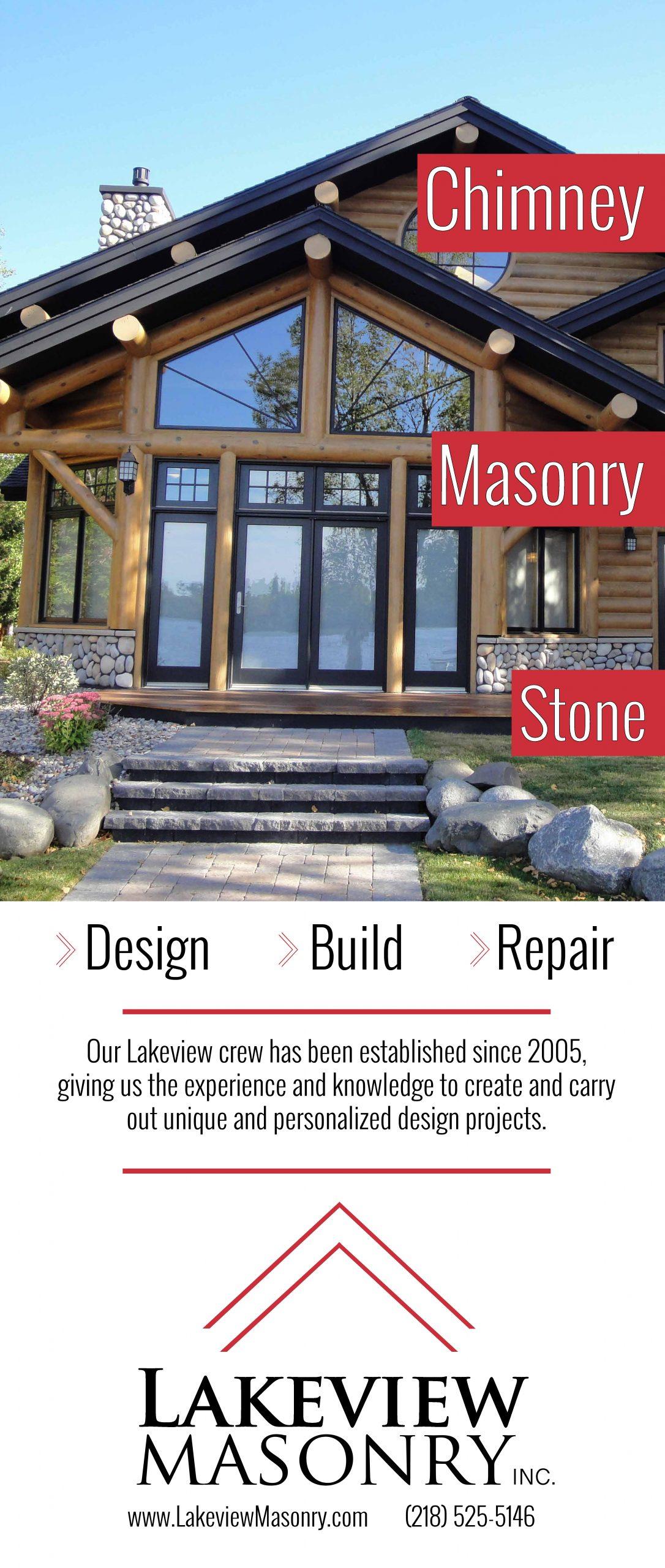 Lakeview Masonry Banner