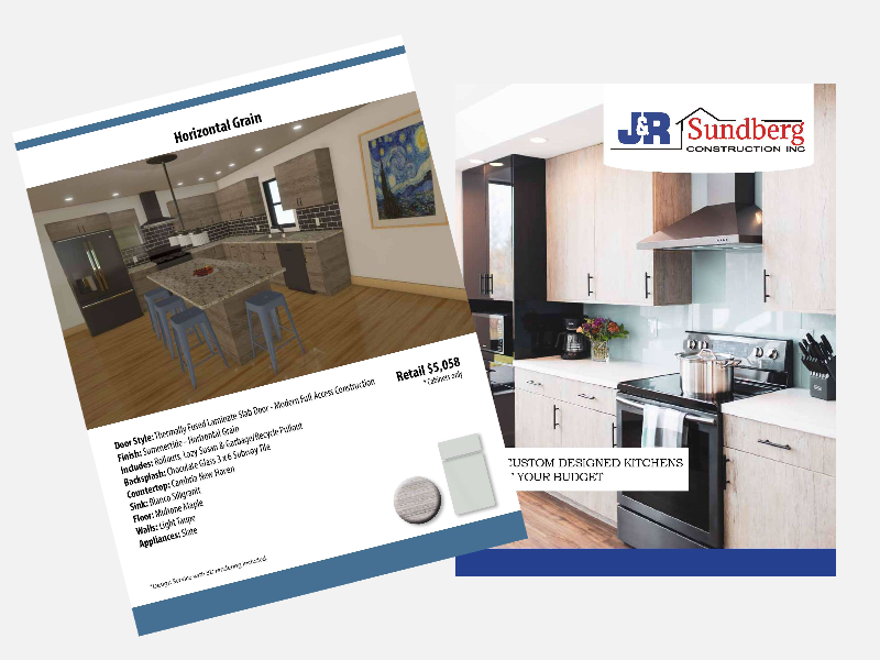 J&R Sundberg Kitchen Design Brochure
