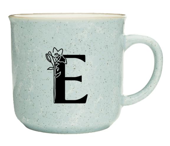 Engwall Floral Coffee Mug