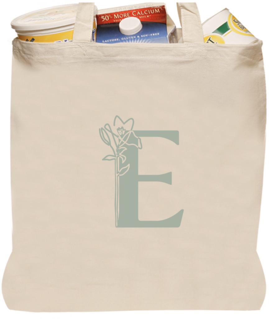 Engwall Floral Tote Bag